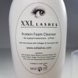 XXL Lashes Foam Cleanser, free of oil and alcohol - 200 ml salon size