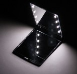 High quality pocket mirror with built-in LED light