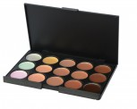 Premium quality concealer palette with 15 different shades